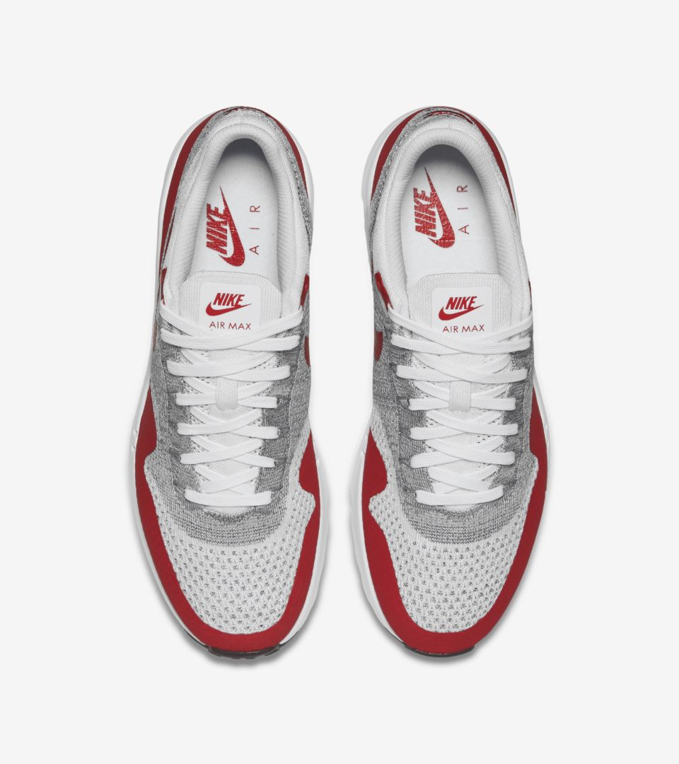 pretty nice 5b17f 79efd Nike Air Max 1 Ultra Flyknit 'Varsity Red'. Nike+ SNKRS