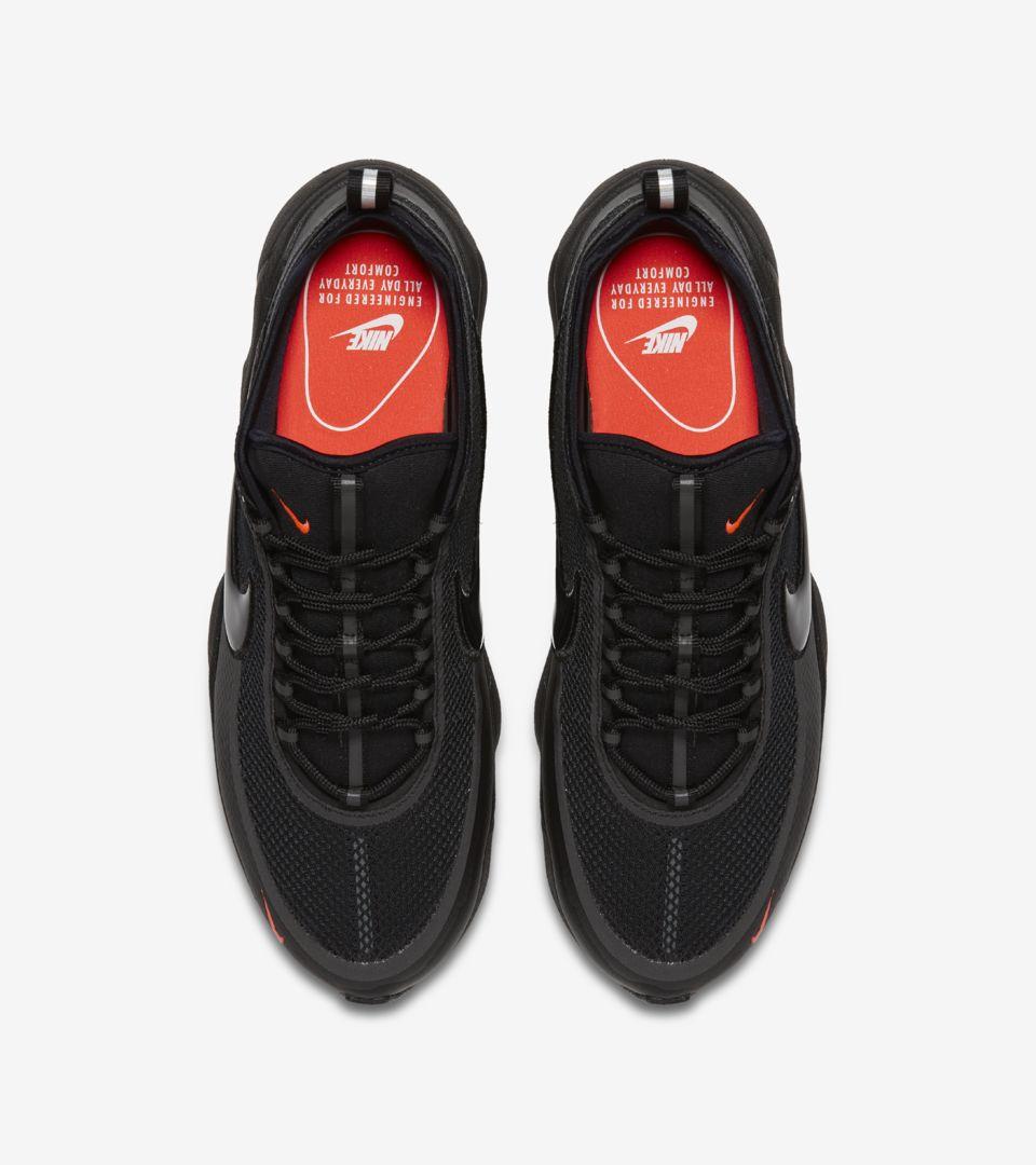 c3fbddbb4512 Nike Air Zoom Spiridon  Black  amp  Bright Crimson . Nike+ Launch GB