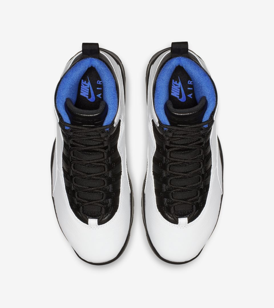 Air Jordan 10 Retro Orlando 'White & Royal & Black' Release Date