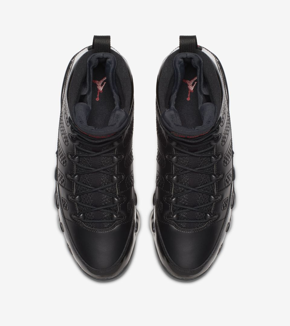 the latest 9a685 5d671 Air Jordan 9 Retro 'Black & University Red' Release Date ...