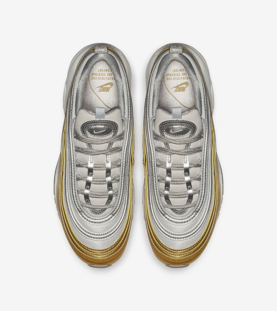 e593862e0f9d7 ... Women's Air Max 97 'Vast Grey & Metallic Gold & Metallic Silver' ...
