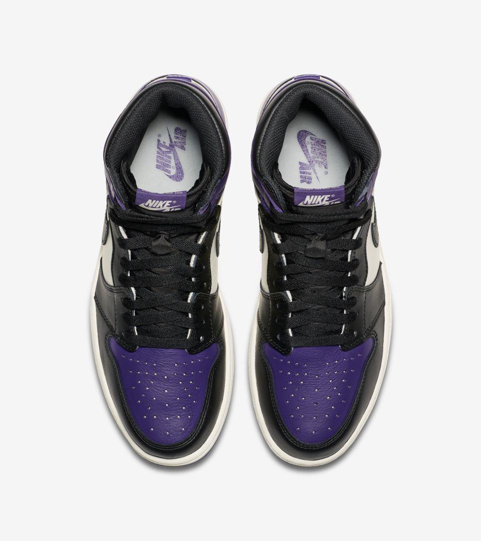 8a0d0dfcefe Air Jordan 1 Retro  Court Purple  Release Date. Nike+ SNKRS
