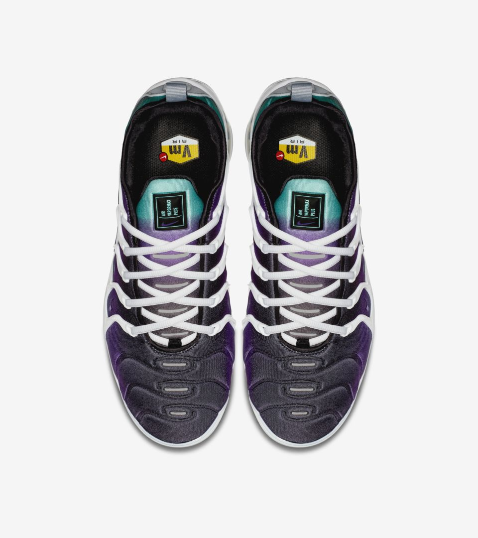 7732e6885fdd0c Nike Air Vapormax Plus  White and Fierce Purple  Release Date. Nike ...