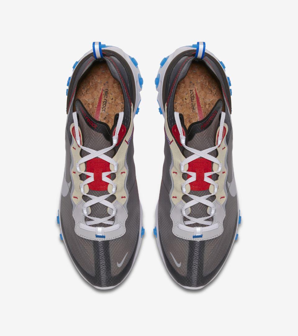 Nike React Element 87 'Pure Platinum & Photo Blue' Release Date