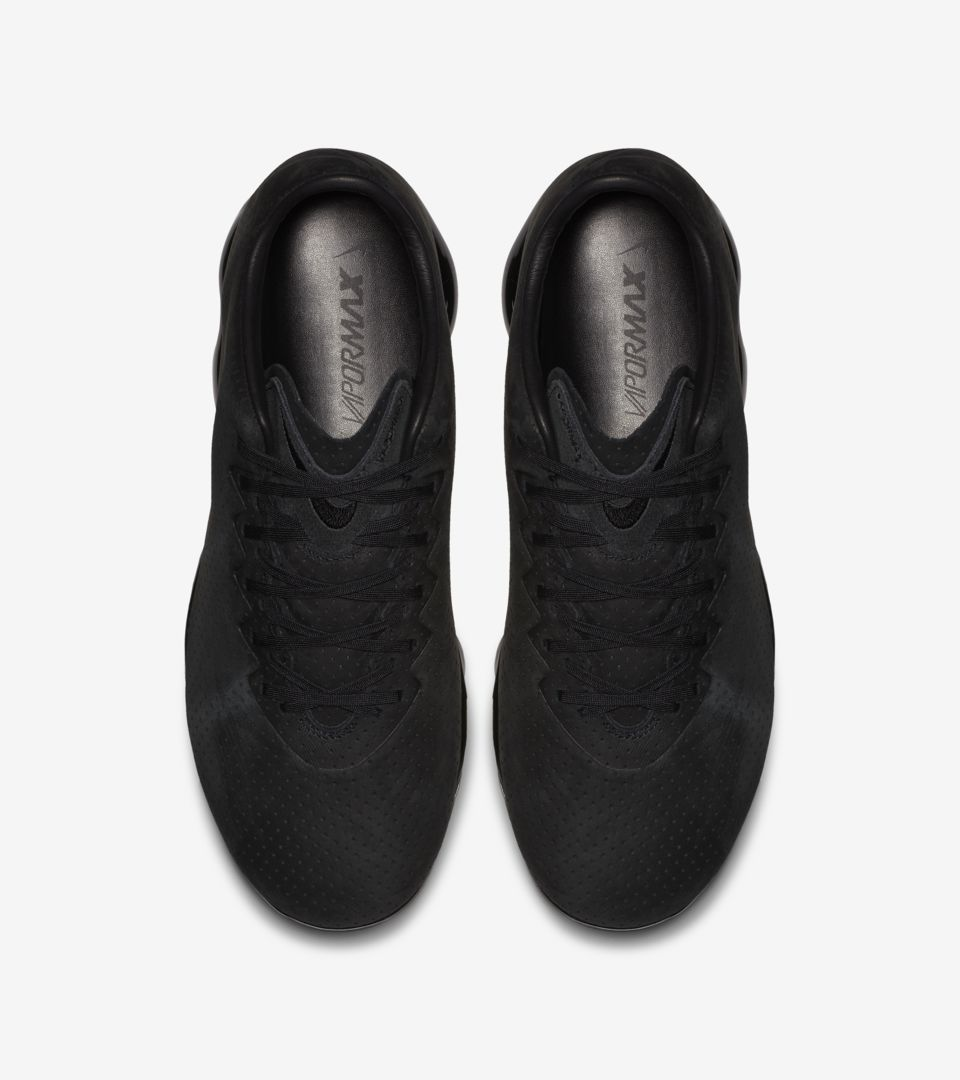 3788b99eebd63f Nike Air VaporMax LTR  Triple Black  Release Date. Nike+ SNKRS