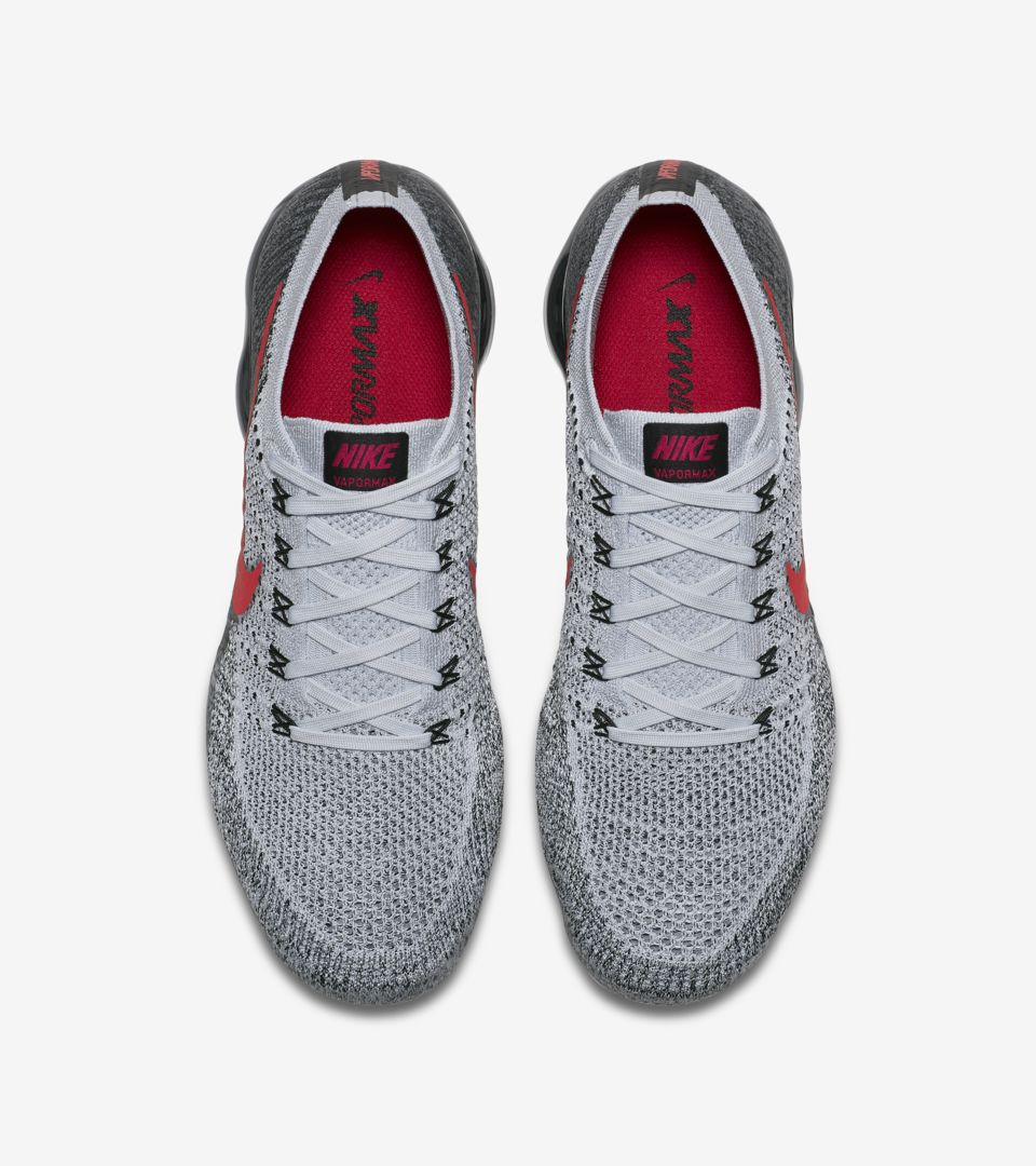dffc14c7cfd Nike Air Vapormax 1 OG  Pure Platinum   University Red  Release Date ...