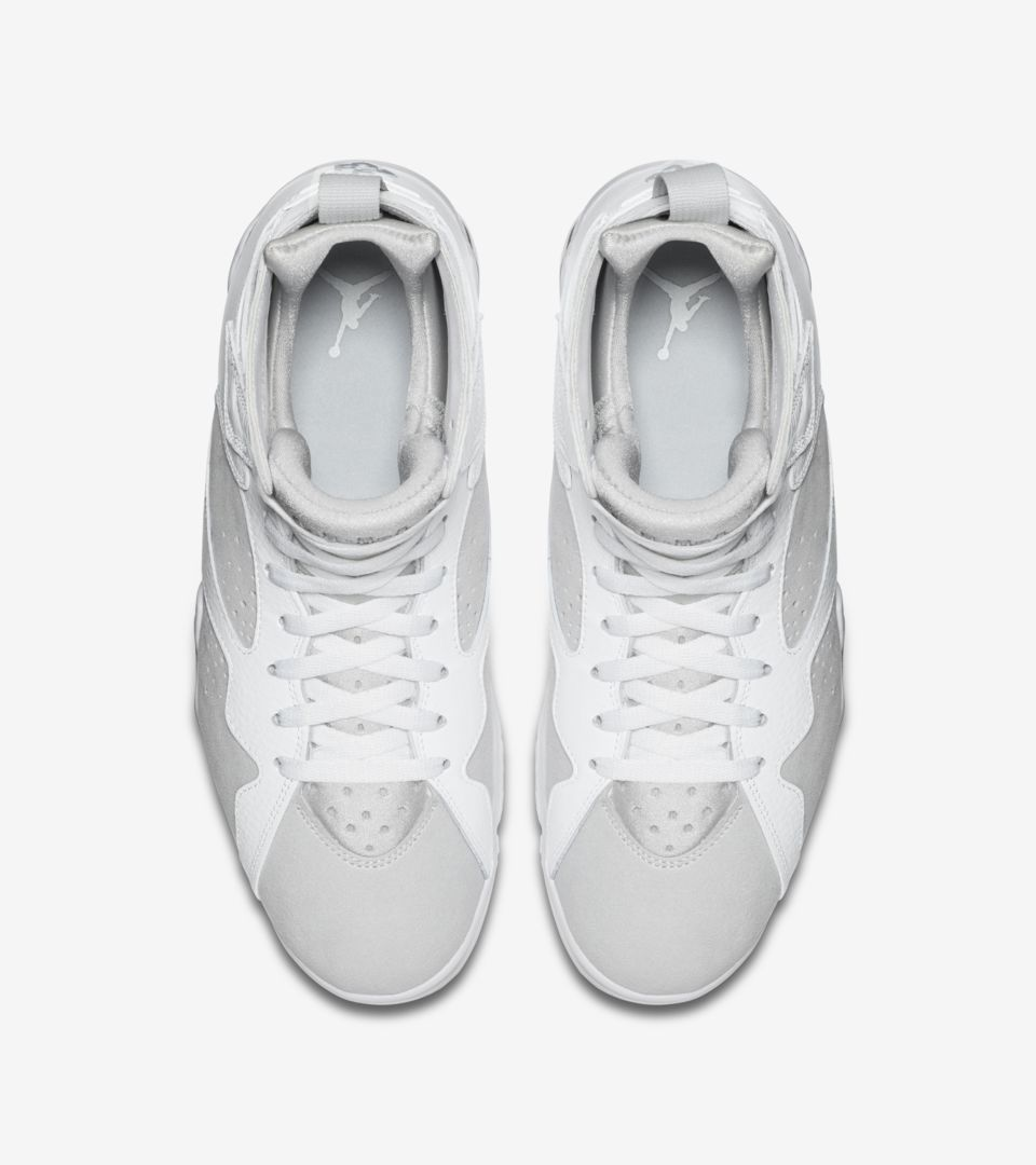 separation shoes 1004d 5c5e1 Air Jordan 7 Retro 'White & Pure Platinum' Release Date ...