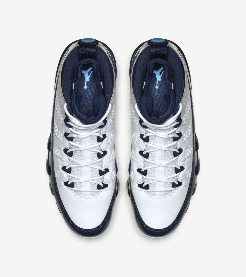 the latest 959c4 6ad90 ... Air Jordan 9 Retro UNC  Midnight Navy  Release ...
