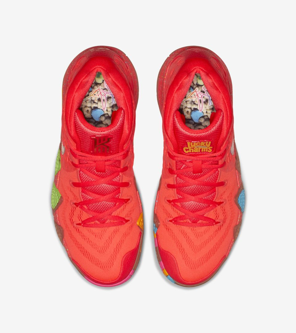 sneakers for cheap 32d0e d11c4 Nike Kyrie 4 'Lucky Charms' Release Date. Nike⁠+ SNKRS