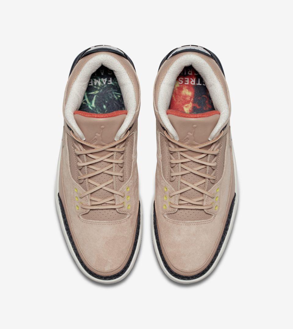 94b8f9aa66e6 Air Jordan 3 JTH  Bio Beige  Release Date. Nike+ Launch GB