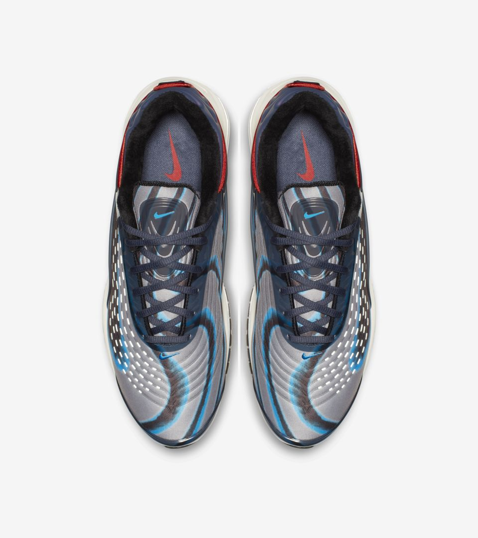 premium selection 7fb71 feef7 ... Nike Air Max Deluxe  Thunder Blue   Wolf Grey   Black  ...