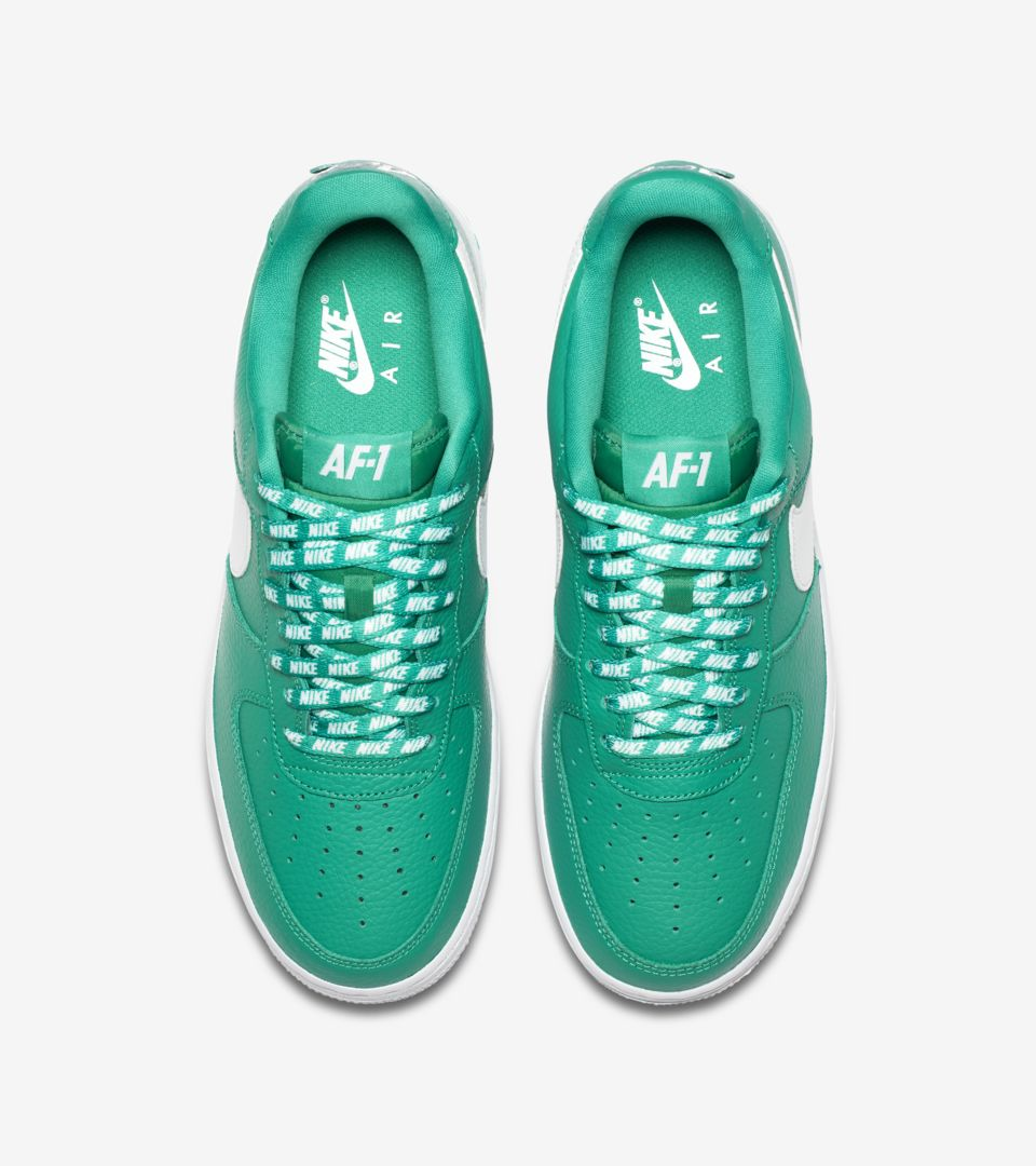 big sale 14a83 4f4f6 Nike AF-1 Low NBA 'Neptune Green & White' Release Date. Nike⁠+ SNKRS