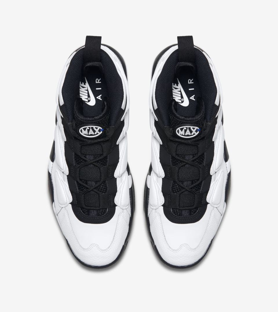 Nike Air Max2 Uptempo 94 'White & Royal Blue & Black'