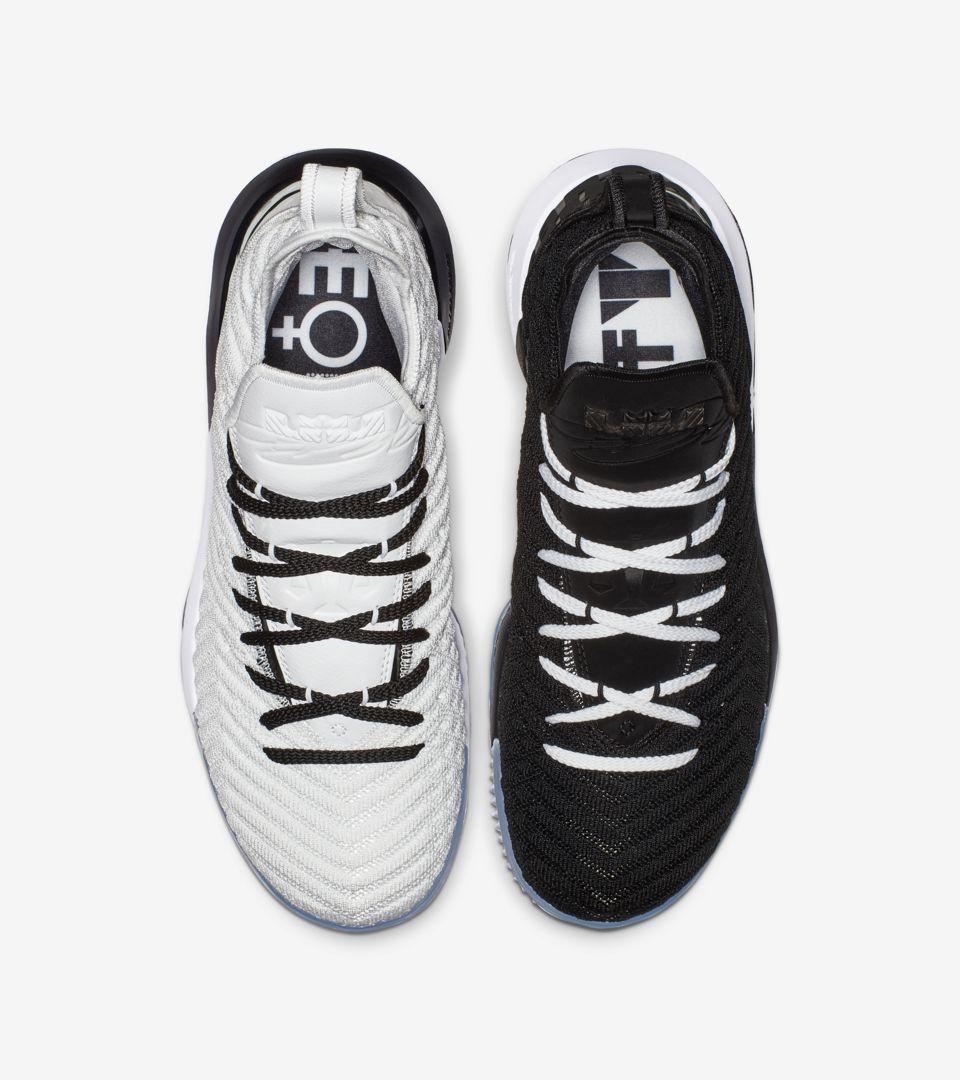 729efb57c90 Lebron 16 Equality 2019  Black   White  Release Date. Nike+ SNKRS