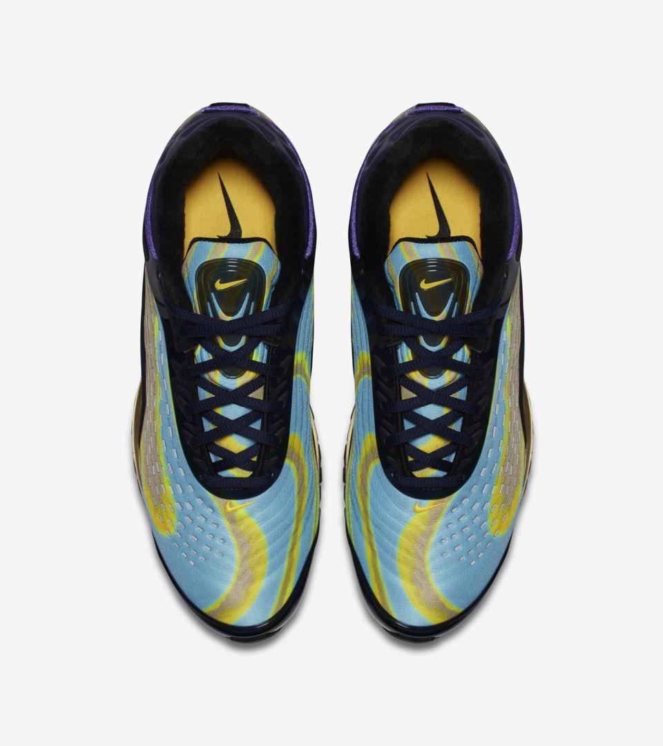 7ecc215cf110 ... Nike Air Max Deluxe  Midnight Navy   Laser Orange   Persian Violet  ...
