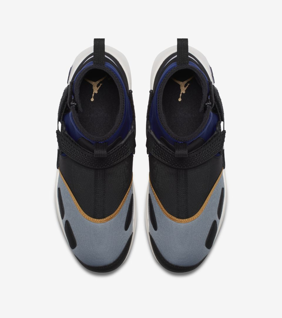 Jordan Trunner LX High NRG  Black   Game Royal   Gold  Release Date ... 8e61831bd