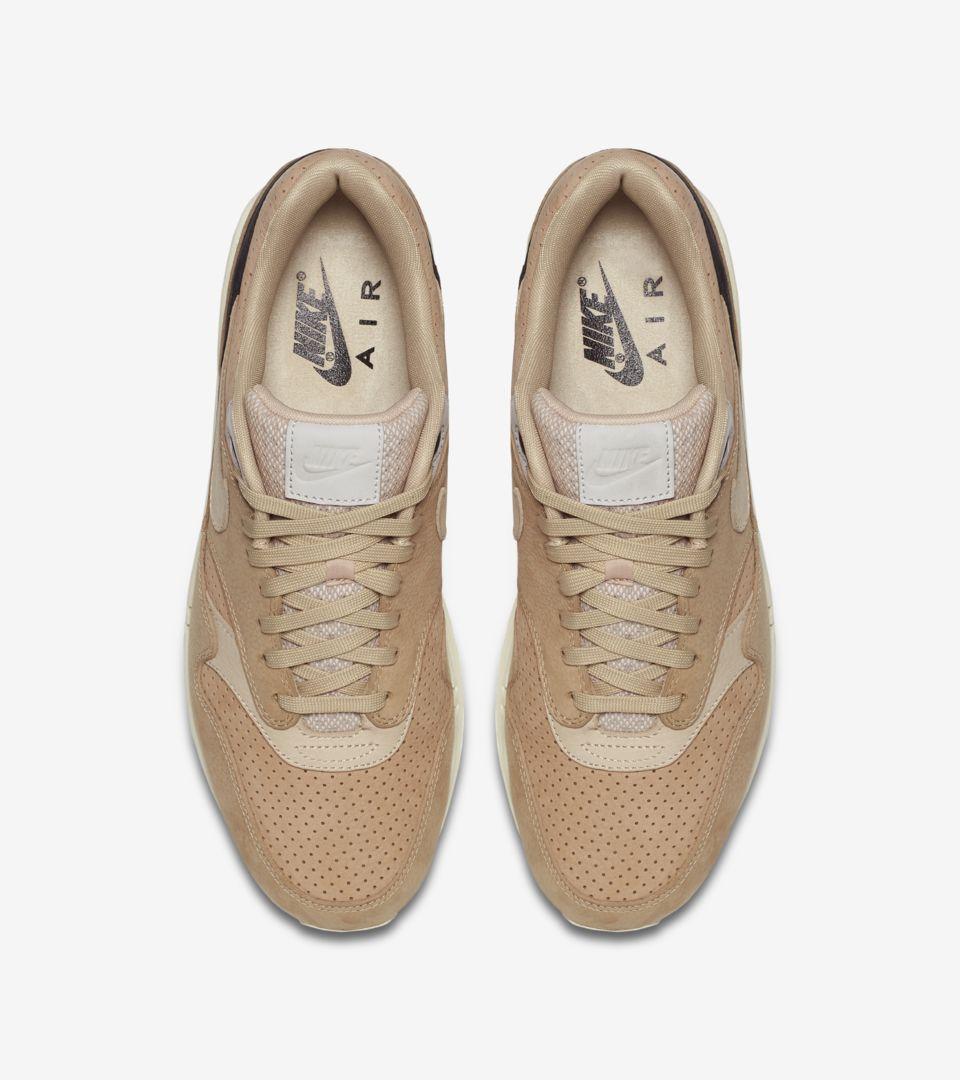 b8f0f78f1d NikeLab Air Max 1 Pinnacle 'Black & Bio Beige'. Nike+ SNKRS