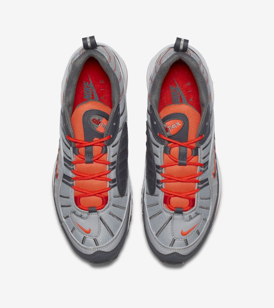 huge discount 96d54 18b3d Nike Air Max 98 'Wolf Grey & Total Crimson' Release Date ...