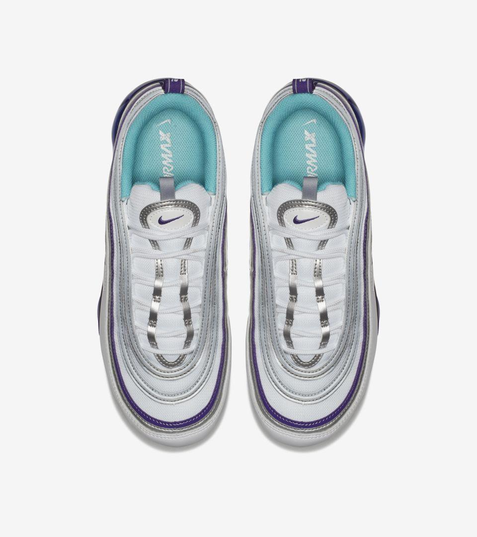 4e14d938b2 Nike Air Vapormax 97 'White & Varsity Purple' Release Date. Nike+ SNKRS