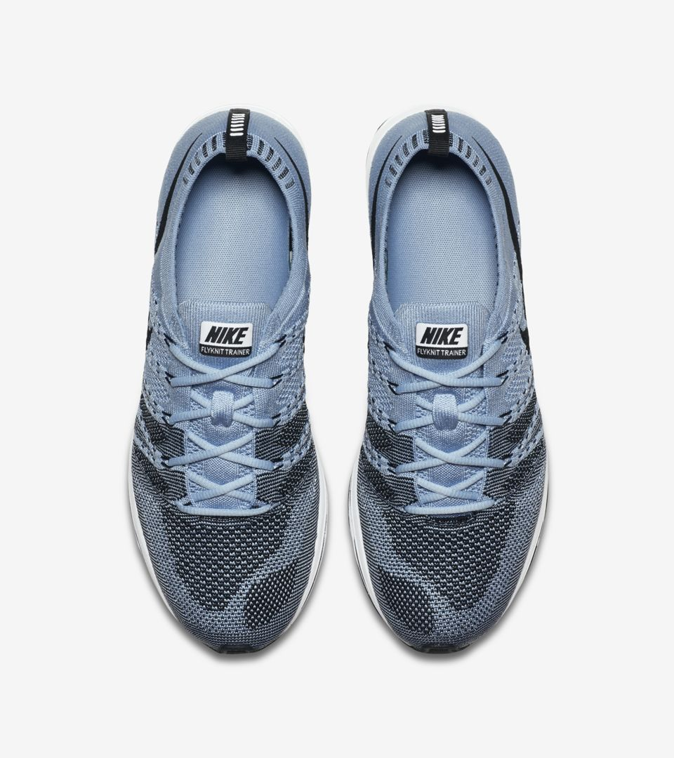 the best attitude d2f30 f0ebf Nike Flyknit Trainer  Cirrus Blue   Black  Release Date. Nike⁠+ SNKRS