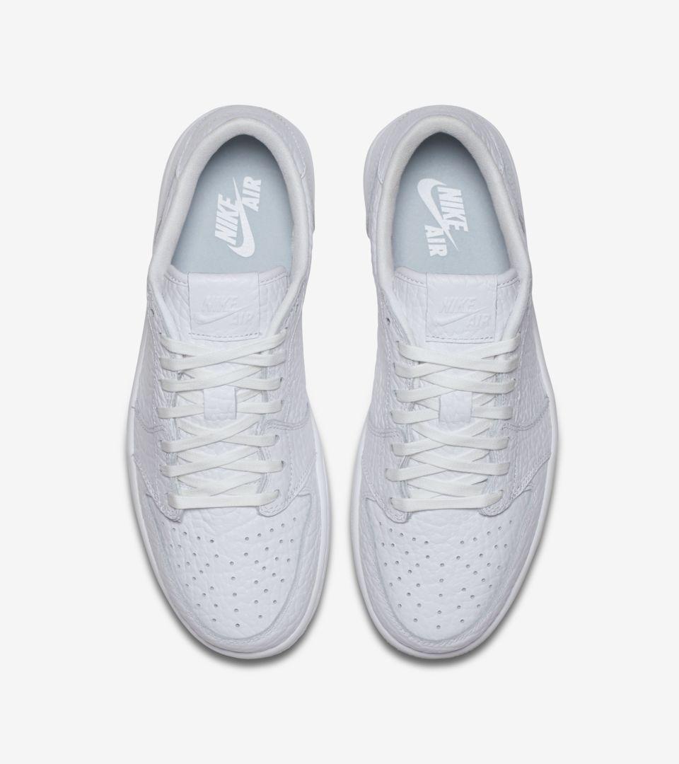 7a3973e782ba Air Jordan 1 Retro Low NS  Triple White  Release Date. Nike+ SNKRS