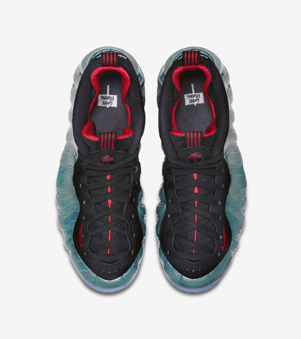 1d49e5d949731 Nike Air Foamposite One  Gone Fishing  Release Date. Nike⁠+ SNKRS
