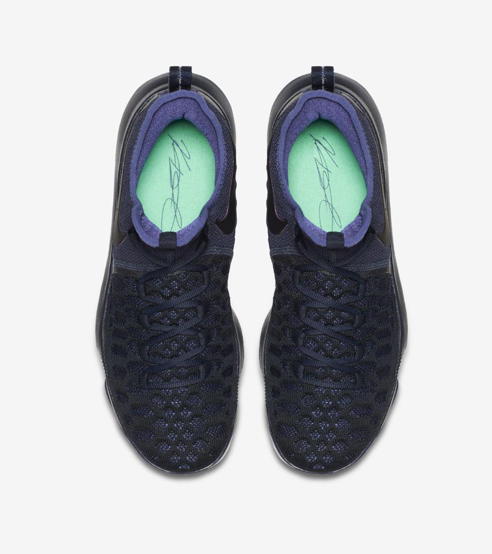 6fa1b78f5a00 Nike Zoom KD 9  Obsidian   Black  Release Date. Nike+ SNKRS