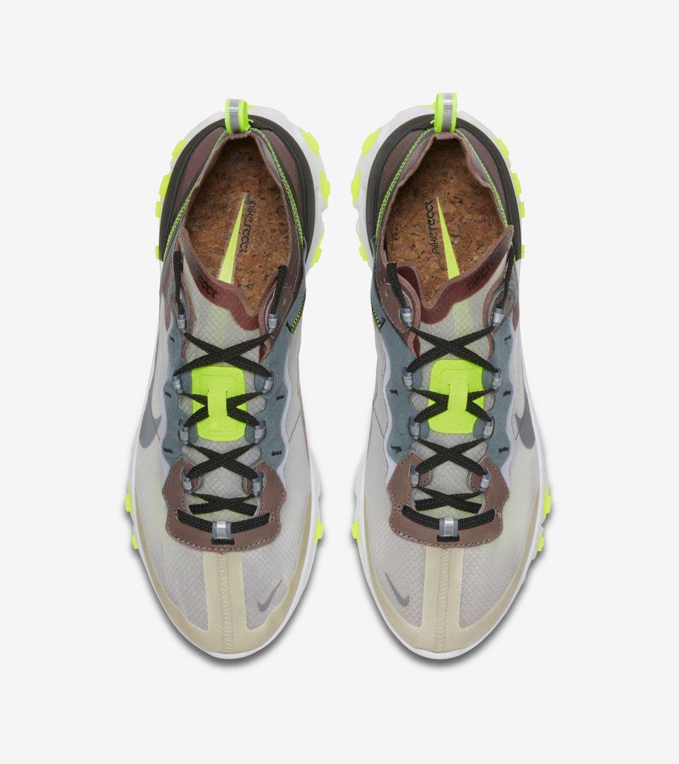 8e684ce4f07d Nike React Element 87  Desert Sand   Smokey Mauve  Release Date ...