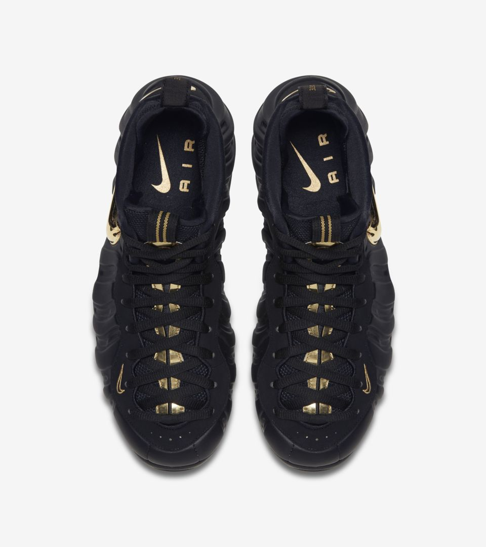best website b9f71 b3ab4 Nike Air Foamposite Pro 'Black & Metallic Gold' Release Date ...
