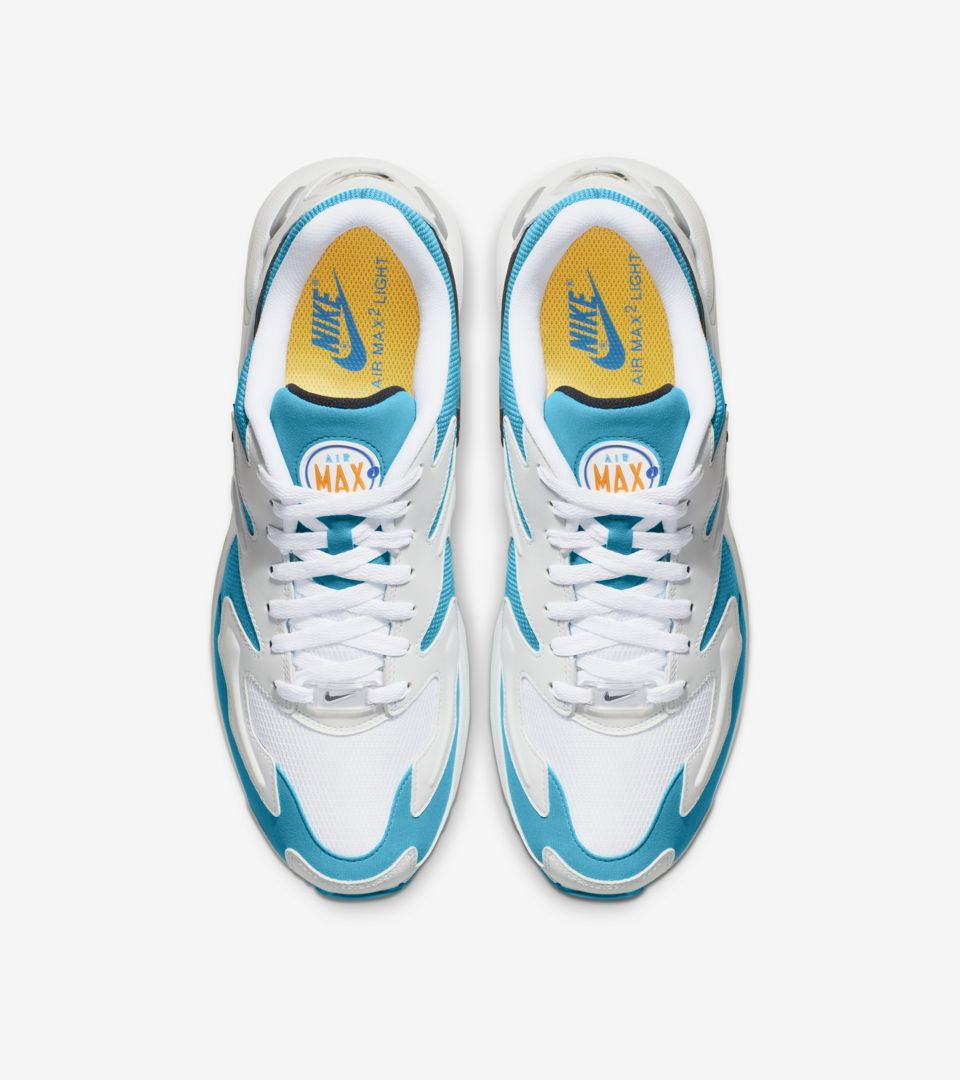new style 4ea1d a7209 Men s Air Max2 Light  Blue Lagoon  Release ...