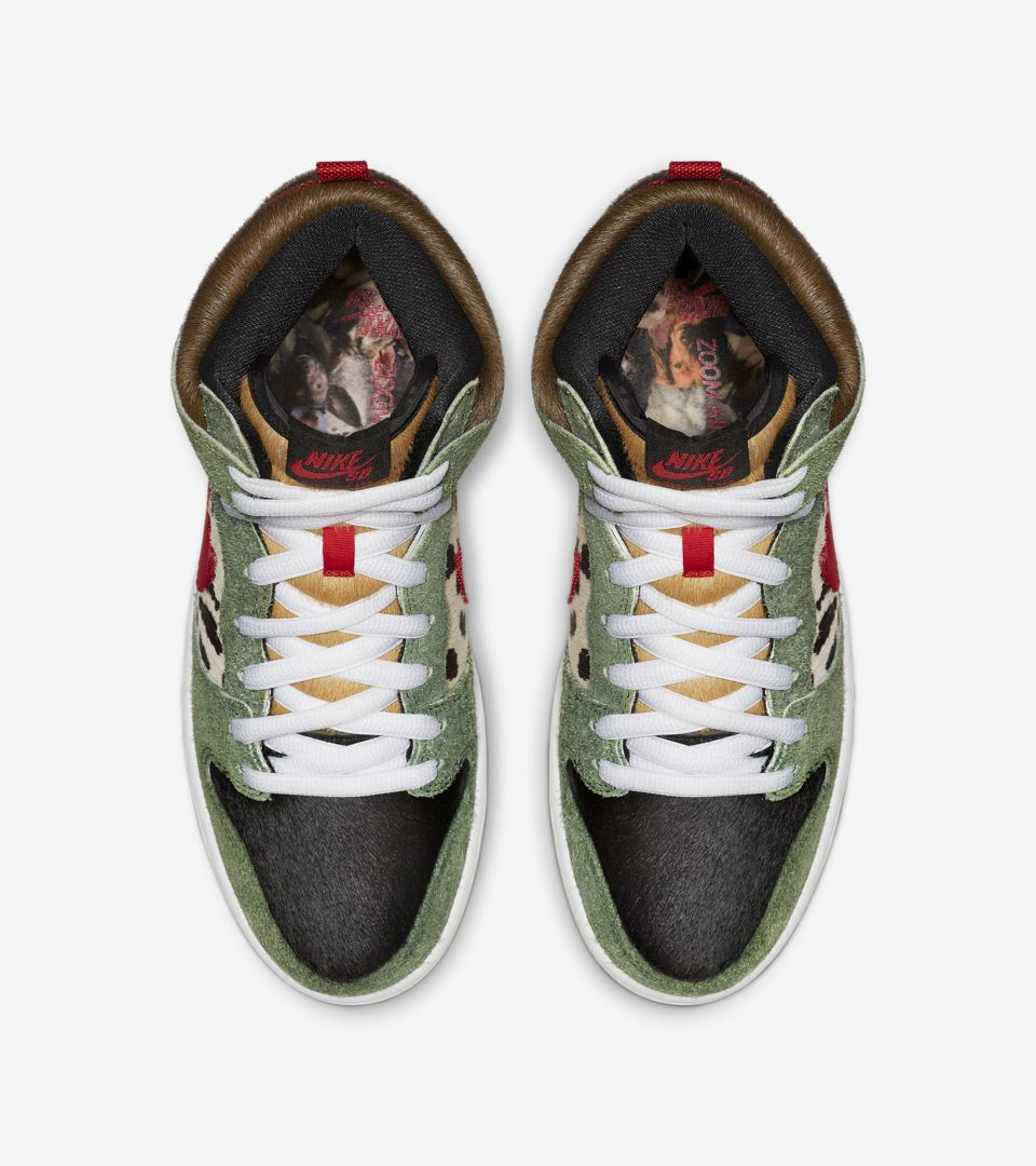 SB Dunk High 'Walk the Dog' Release Date