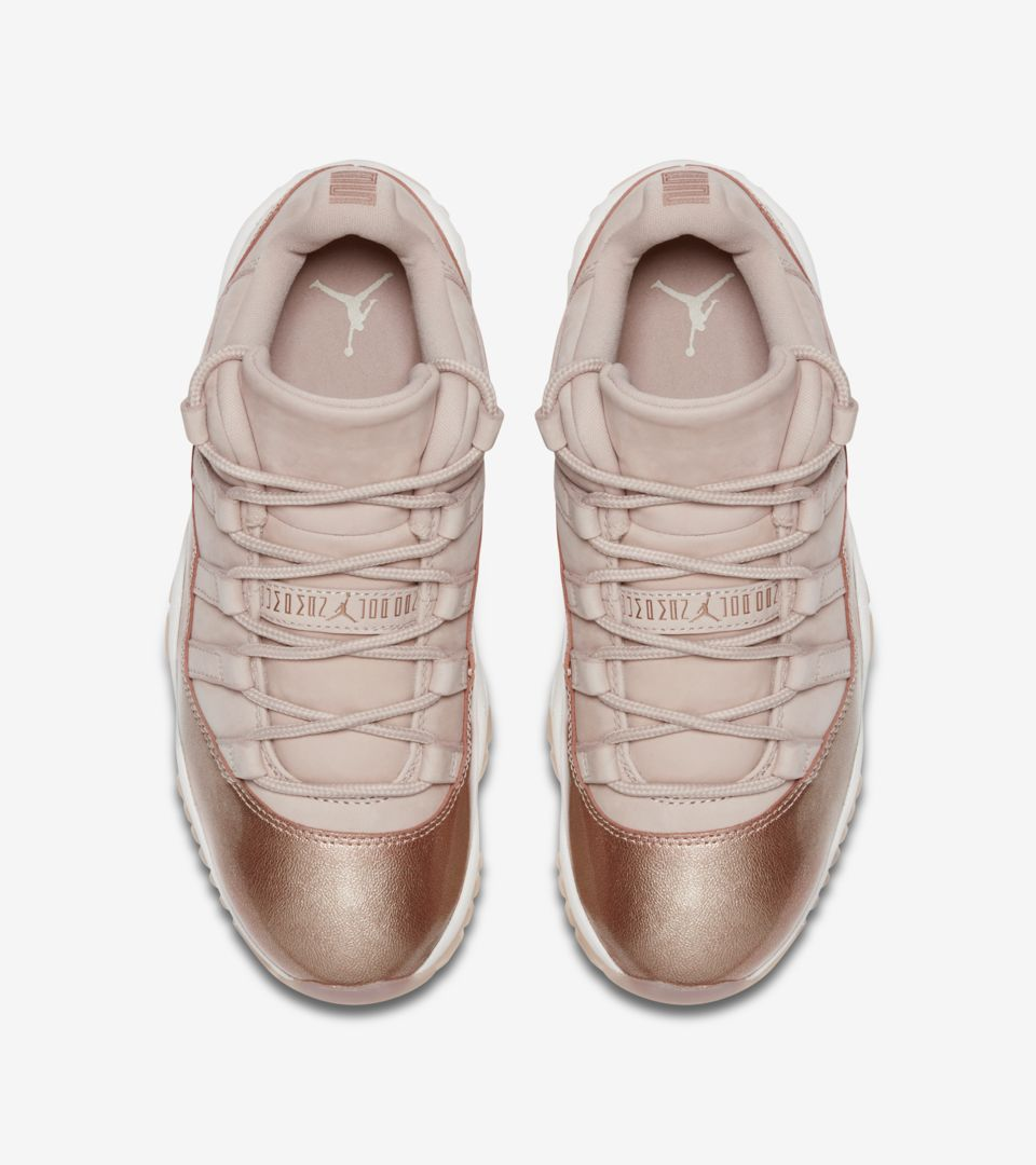 2943680538ea Women s Air Jordan 11  Rose Gold  Release Date. Nike⁠+ SNKRS