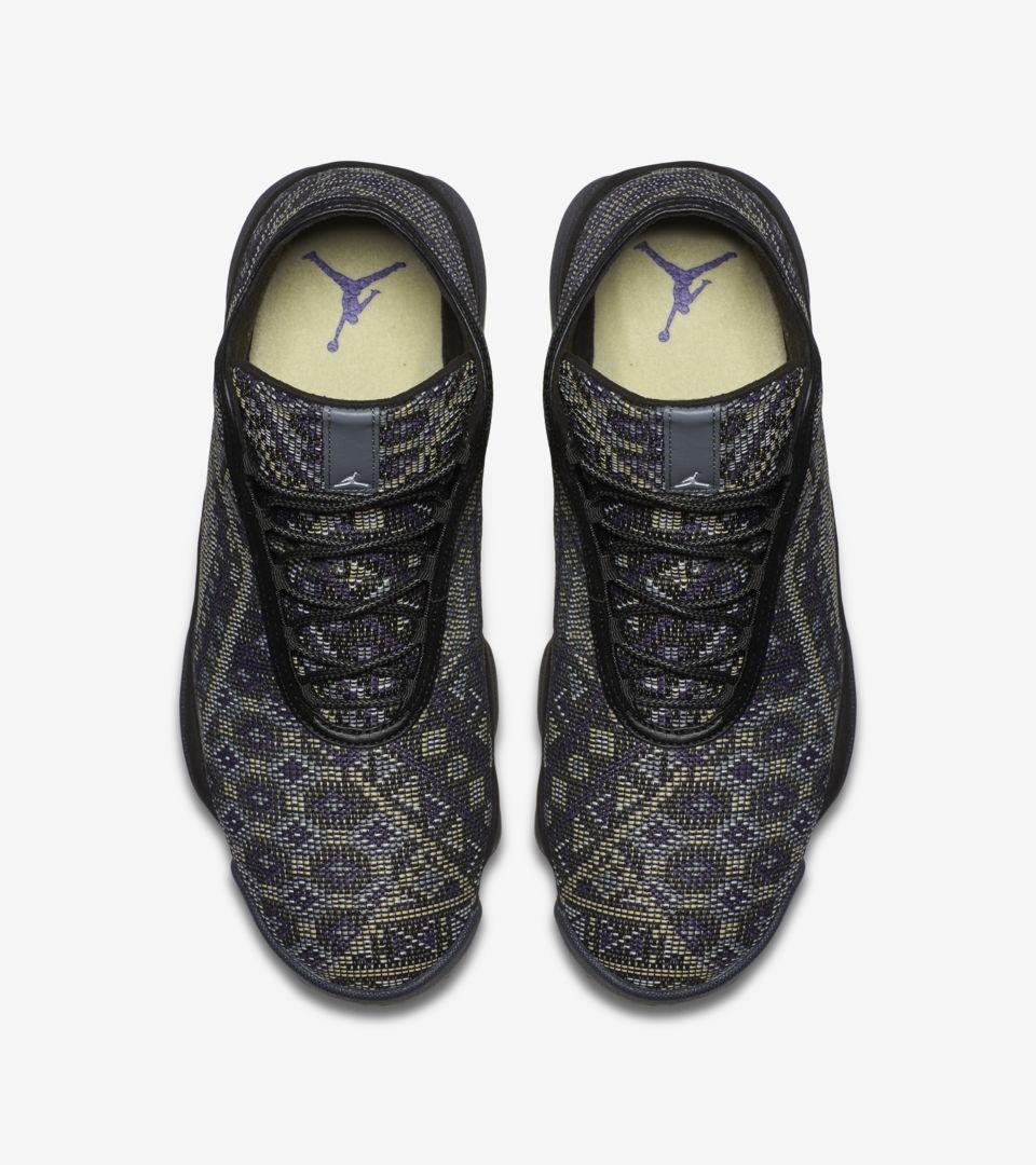 size 40 e0372 e6e8a Nike Jordan Horizon  Black   Purple Steel  Release Date. Nike+ SNKRS