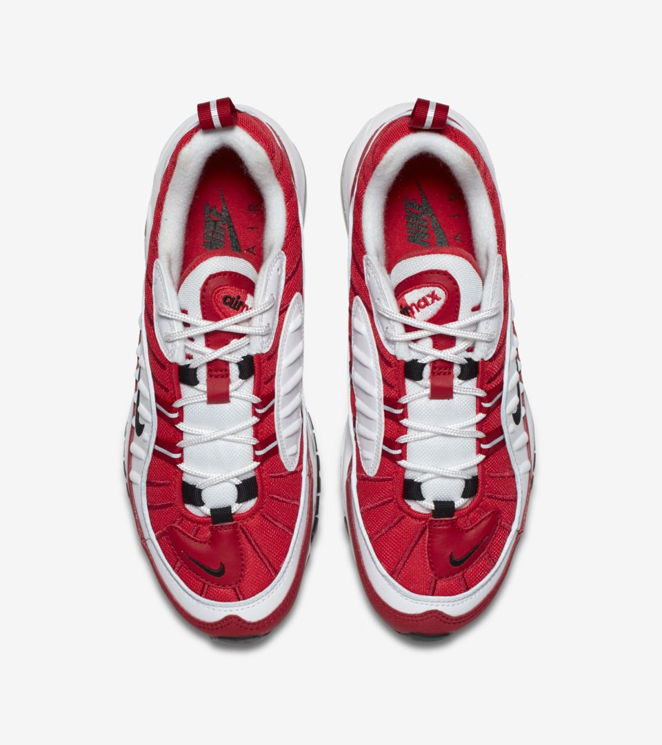 79d02ad3972e6 Nike Womens Air Max 98  White  amp  Gym Red  Release Date. Nike⁠+ ...