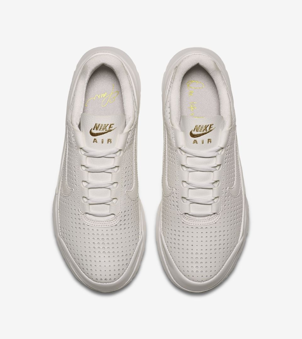 e2a390307a05 Women s Nike Air Max Jewell SE Premium  Summit White   Metallic Gold ...