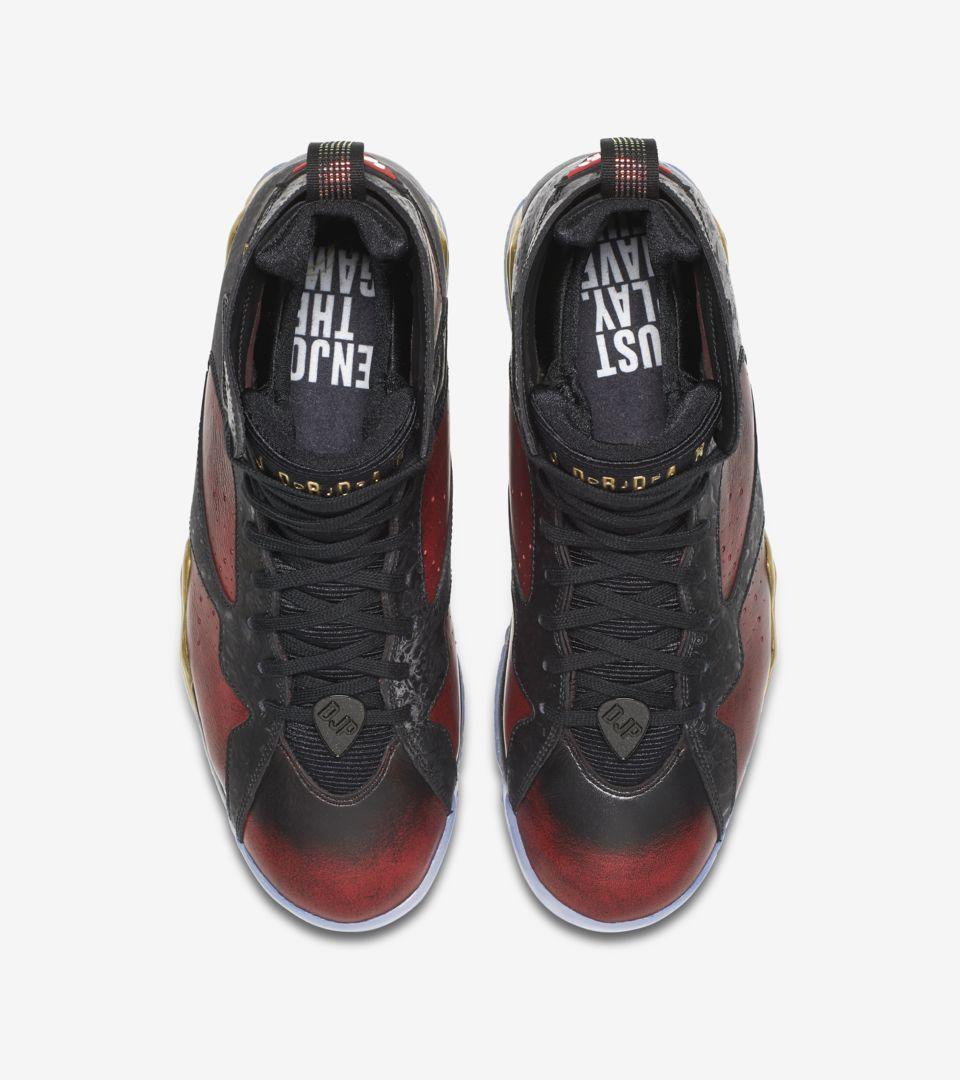 488176695256 Air Jordan 7 Retro Doernbecher  Black   University Red  Release Date ...