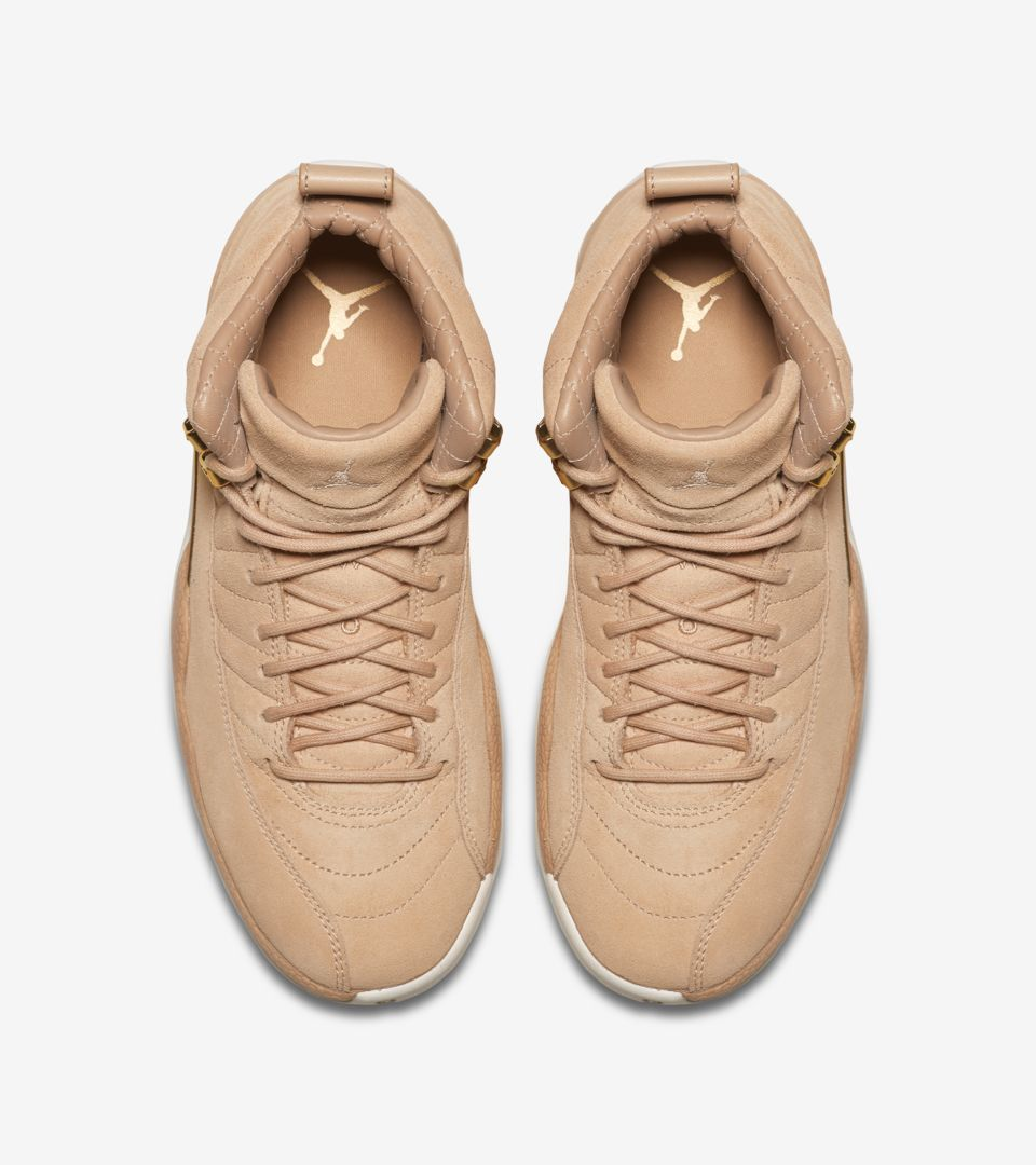 89573295bbf Women's Air Jordan 12 'Vachetta Tan & Metallic Gold' Release Date ...