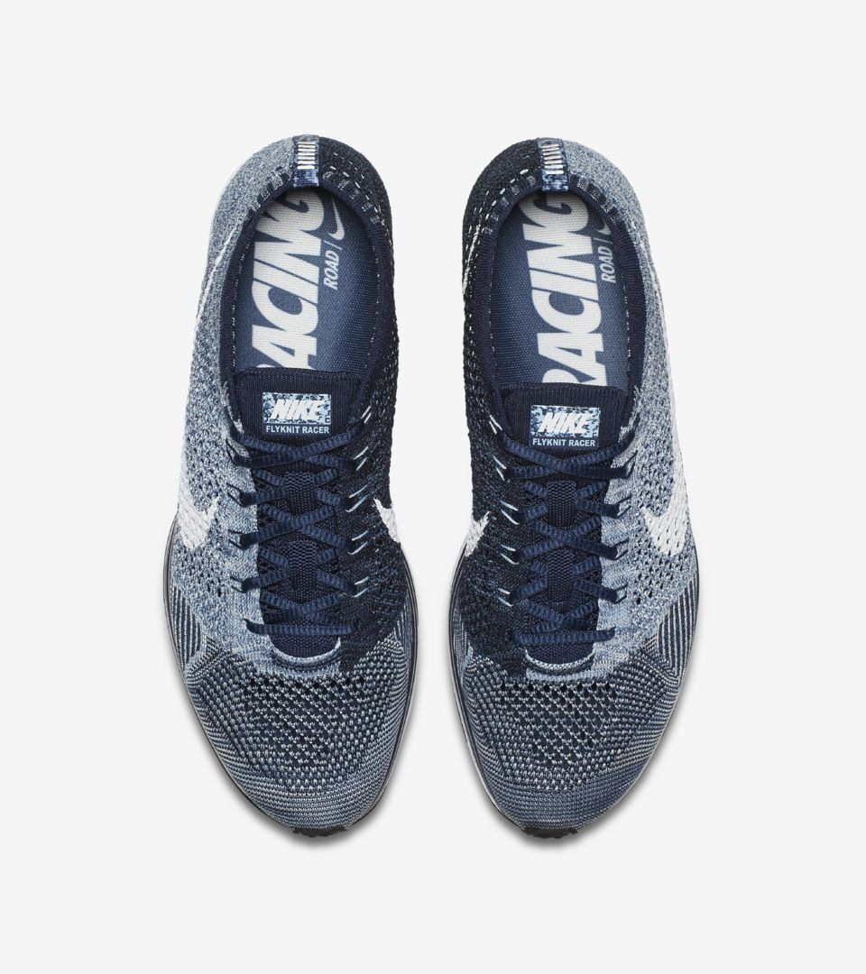 online store 4d917 4a657 Nike Flyknit Racer  Blue Tint . Release Date. Nike⁠+ SNKRS