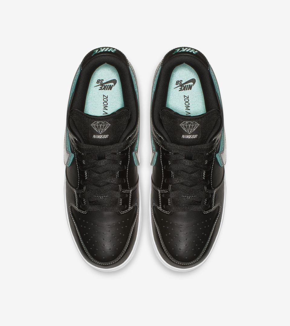 Nike SB Low Pro Diamond 'Black & Tropical Twist & Chrome' Release Date