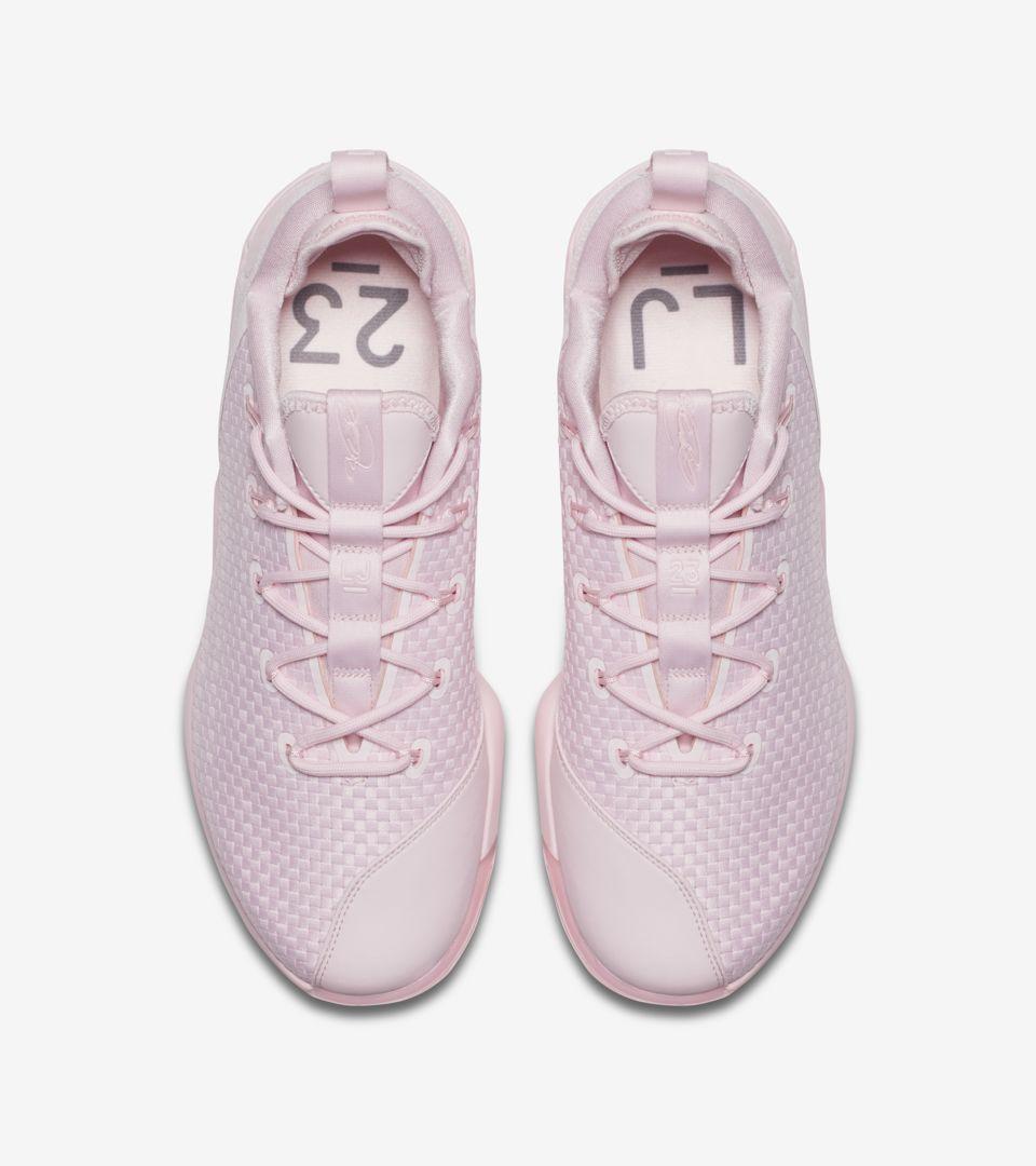 3600358183cf9 Nike LeBron 14 Low  Prism Pink . Nike+ SNKRS