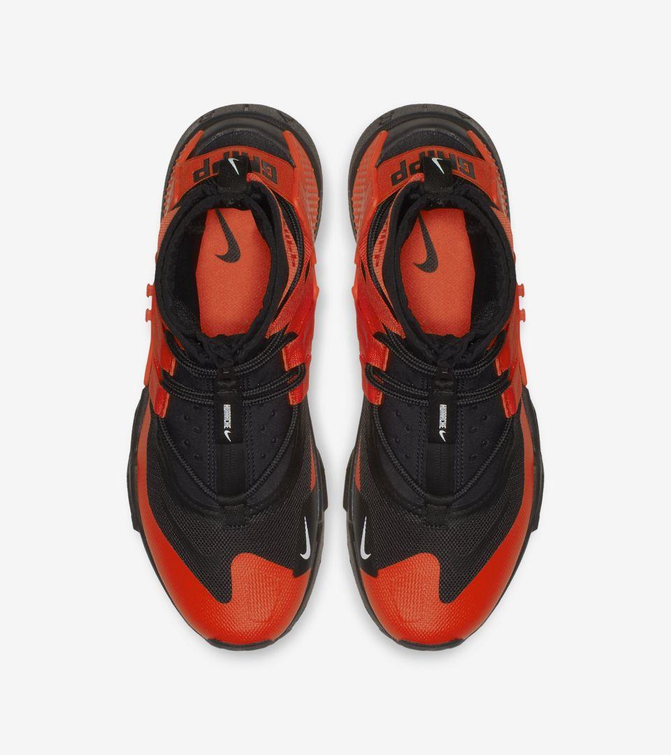 Nike Air Huarache Gripp 'Black & White & Team Orange' Release Date
