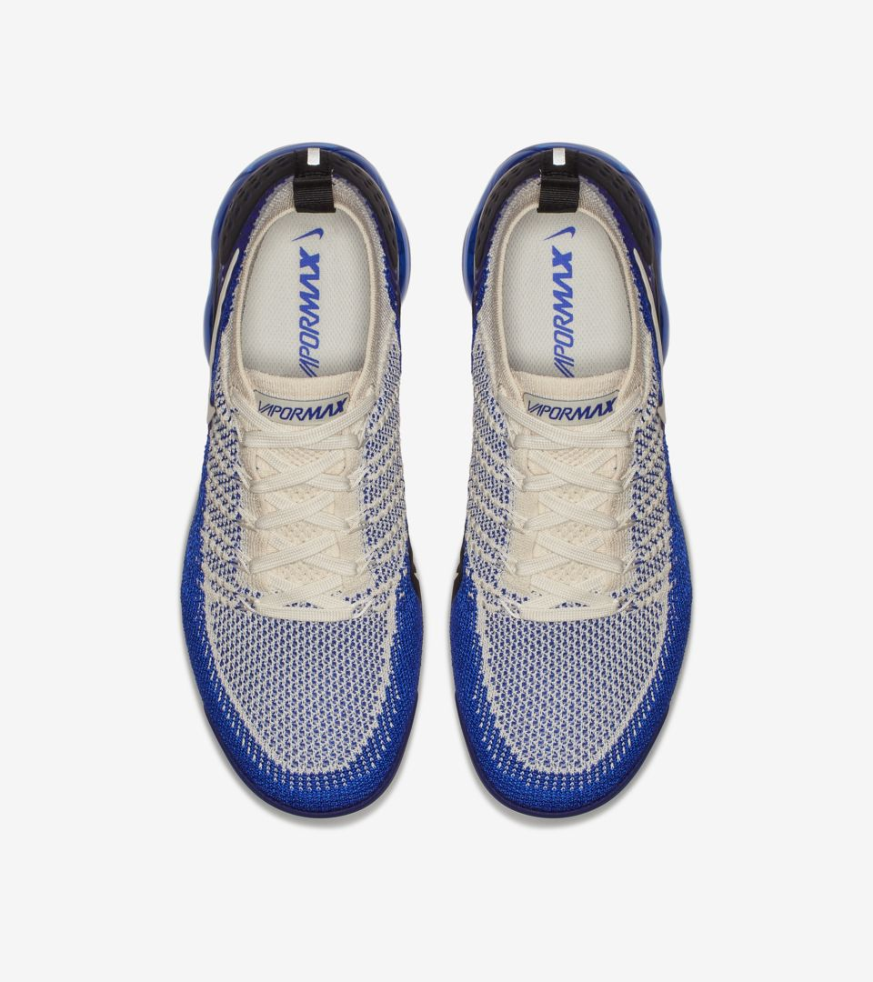 online store eb9ad fb917 Nike Air Vapormax Flyknit 2 'Light Cream & Racer Blue ...