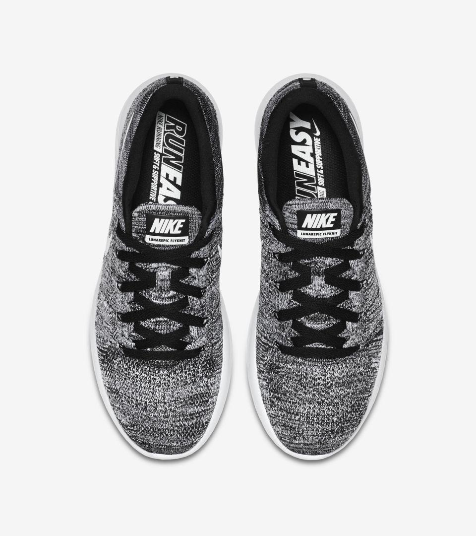 e1f31033e6adc Nike Lunarepic Low Flyknit  Black   White . Nike+ SNKRS
