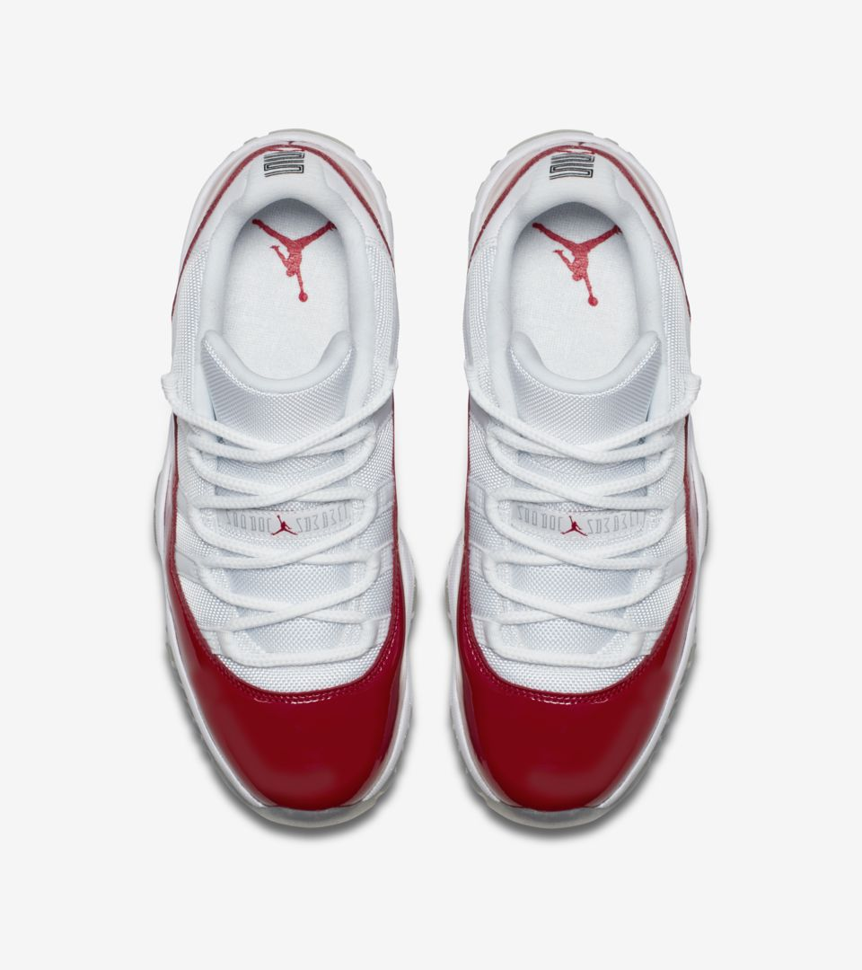 55b97514730d5 Air Jordan 11 Retro Low  Varsity Red  Release Date. Nike⁠+ SNKRS