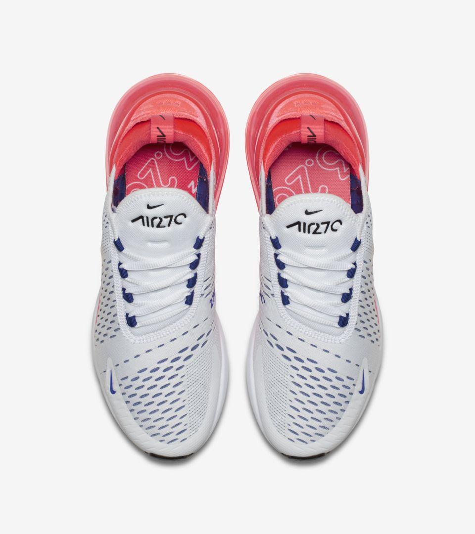 Nike Womens Air Max 270 'Ultramarine & Solar Red' Release
