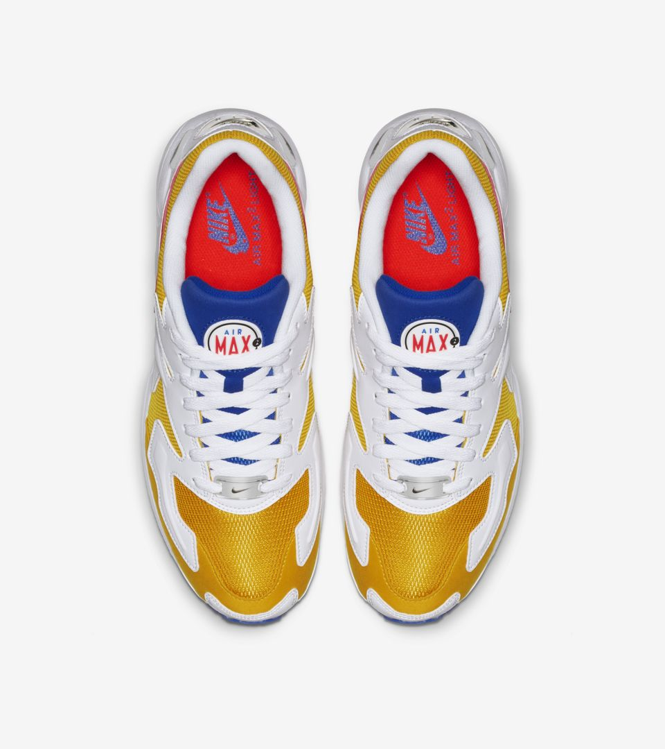 67d2352e68 ... Nike Air Max2 Light 'University Gold & Racer Blue & Flash Crimson' ...