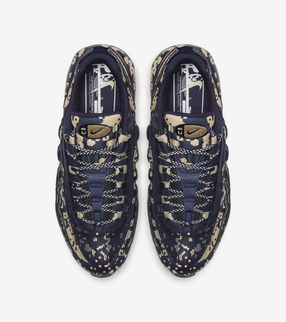 69be9bca59 Nike Air Max 95 Cav Empt 'Blackened Blue' Release Date. Nike⁠+ SNKRS