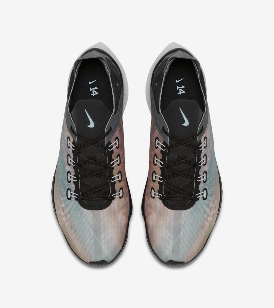 Nike EXP-X14 'Black & Wolf Grey & Blue Chill' Release Date