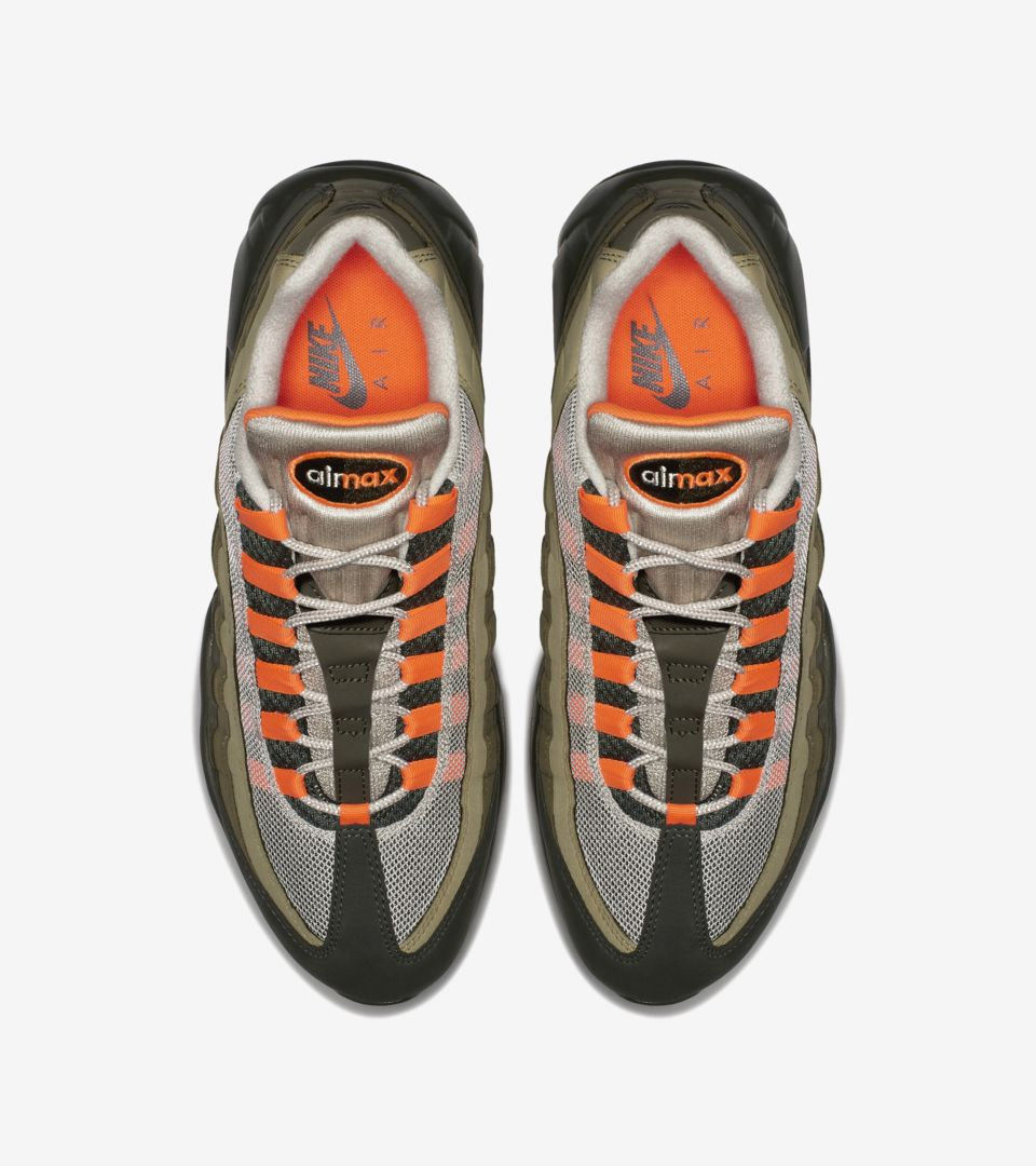 Nike Air Max 95 'Total Orange & Medium Olive' Release Date