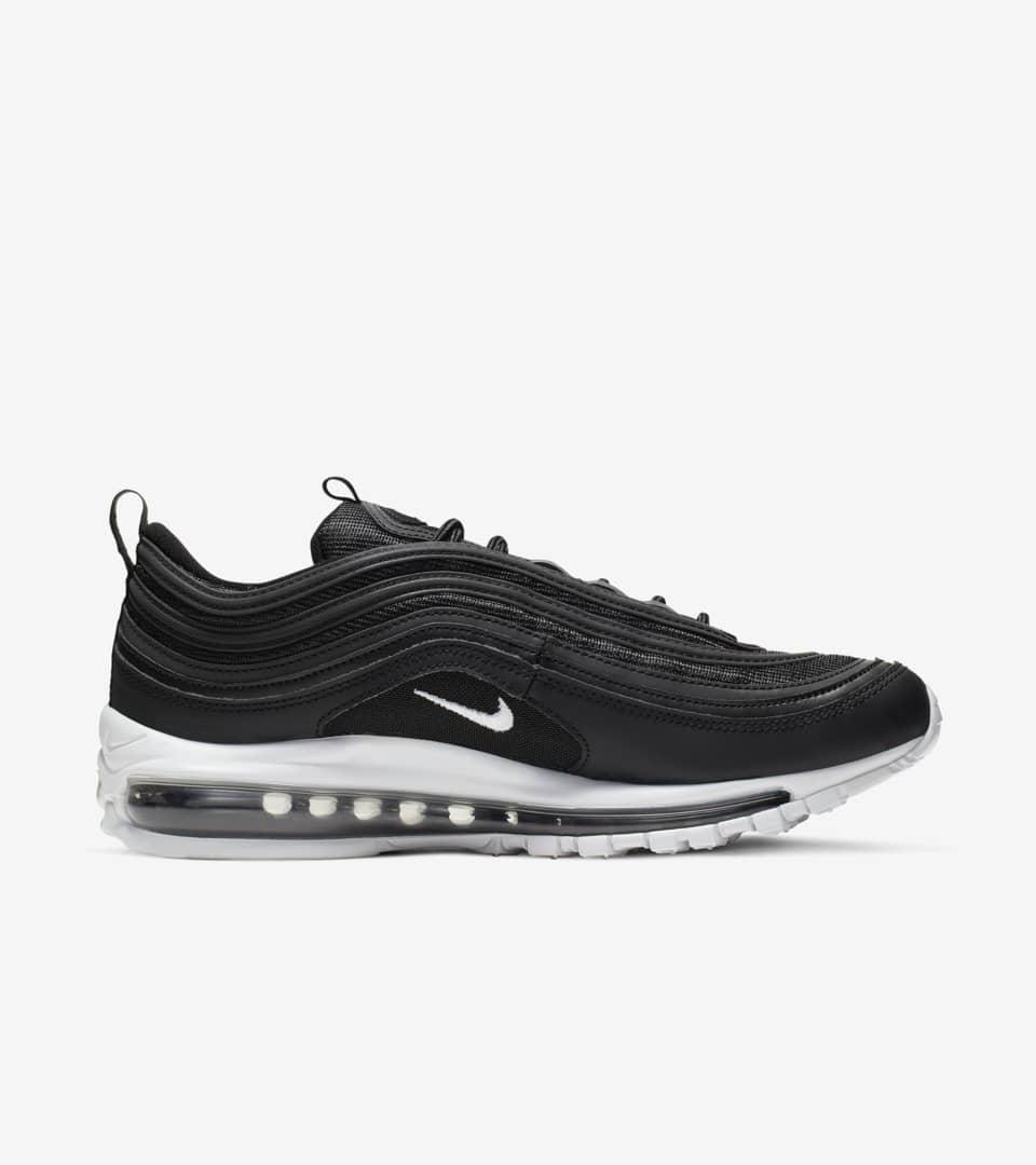 best website 78b36 6f39c Nike Air Max 97 'Black & White' Release Date. Nike+ SNKRS